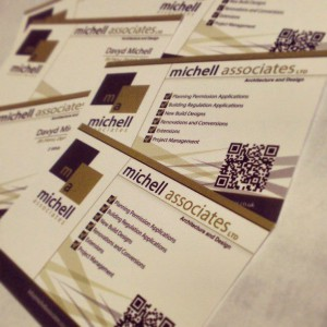 Michell Associates Business Cards - Frodsham Web